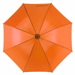 Promo kišobran Santy drveno tijelo i drška narančasti m921507