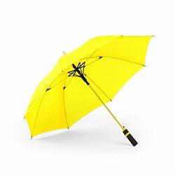 Promo kišobran Cladok automatski čvrst dizajn žuti m588805