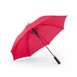 Promo kišobran Cladok automatski čvrst dizajn crveni m588803