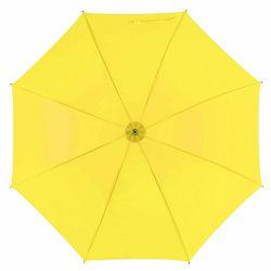 Promo kišobran Santy drveno tijelo i drška žuti m921505