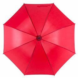 Promo kišobran Santy drveno tijelo i drška crveni m921503