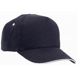 Promo kapa Five 100% češljani pamuk crna m328102