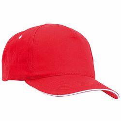 Promo kapa Five 100% češljani pamuk crvena m328103
