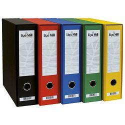 Registrator Lipa mill A4 široki žuti 02395 u kutiji