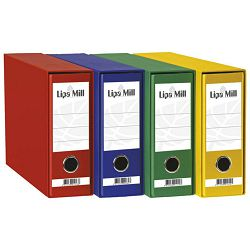 Registrator Lipa mill A5 široki žuti  02406 u kutiji