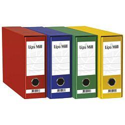 Registrator Lipa mill A5 široki plavi  02404 u kutiji