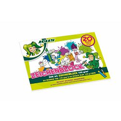 Blok za crtanje Jolly A4 100g 20L 9670-0002