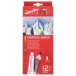 Boja tempera Aero 7,5ml tubice 12 kom u kartonskoj kutiji, 9212-1012