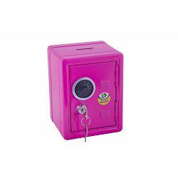 Kasica sef dječji Jolly s ključem rozi 9920-0004