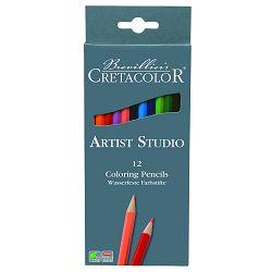 Umjetničke drvene bojice Cretacolor 12 kom u kartonskoj kutiji 280 12
