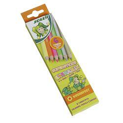 Drvene bojice Jolly kinderfest extra mix 6 kom u kartonskoj kutiji 3000-0490