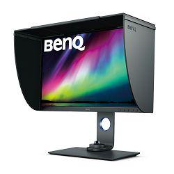"""Monitor LED 27"""" BenQ SW270C, 2560x1440, IPS,  HDMIx2, DP 1.4x1, USB-C, čitač kartica, HAS,  JH.LHTLB.QBE"""