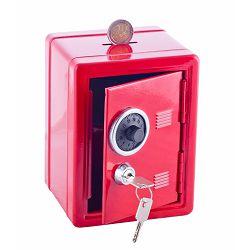 Kasica sef dječji Jolly s ključem crveni 9920-0001