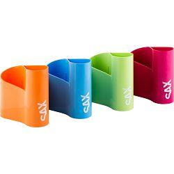 Čaša za olovke Sax design narančasta 0-721-12