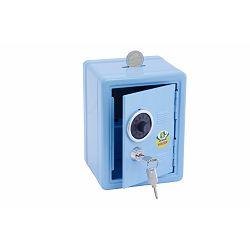 Kasica sef dječji Jolly s ključem svjetlo plavi 9920-0002