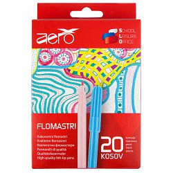 Flomasteri Aero 20 kom u kartonskoj kutiji 4455-0024