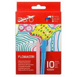 Flomasteri Aero 10 kom u kartonskoj kutiji 4455-0012