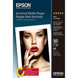 Papir Epson C13S041342 archival matte paper A4 189g 50L