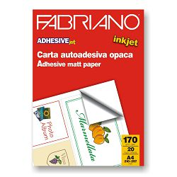 Papir Fabriano adhesivejet A4/170g 20L 15421297