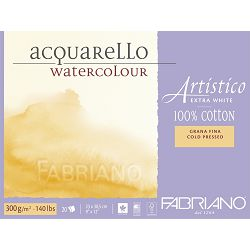 Blok Fabriano artistico gf 23x30,5 300g 20L 312330