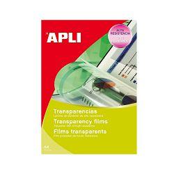 Folija Apli A4 za laser i kopirku 167my 10L 10290