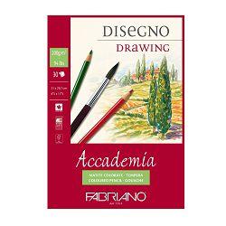 Blok Fabriano accademia A4 200g 30L spiralni 44202129