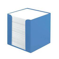 Stolna kocka s papirom 9x9x9 cm, 700 listova, PVC, Color Blocking, Herlitz, mornarsko plava