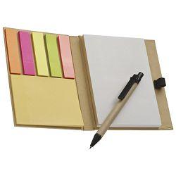 Blok mapa+blok samoljepljiv+5 zastavica+olovka kemijska