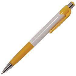 Olovka kemijska YCP5096 Madrid bijelo/žuta