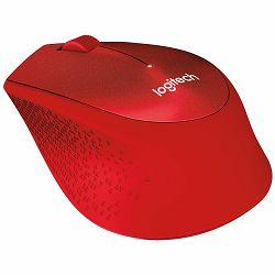 LOGITECH Wireless Mouse M330 SILENT PLUS - EMEA - RED