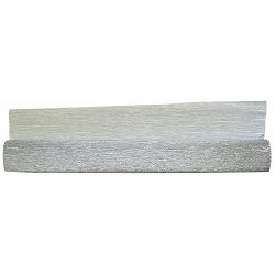 Krep papir 180g 802 metalizirani srebrni 50x250cm P5/60