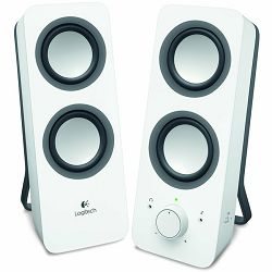 LOGITECH z200 Multimedia Speakers - SNOW WHITE - 3.5 MM - EU