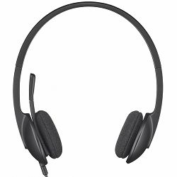 LOGITECH Corded USB Headset H340 - EMEA - BLACK