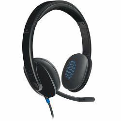 LOGITECH Corded USB Headset H540 - USB – EMEA