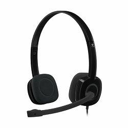 LOGITECH Stereo Headset H151 – EMEA - One Plug