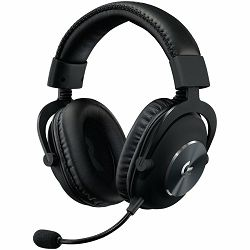 LOGITECH Pro X Gaming Headset - 7.1 / Blue Microphone