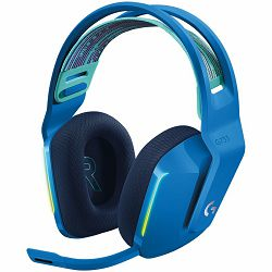 LOGITECH G733 LIGHTSPEED Wireless RGB Gaming Headset - BLUE - 2.4GHZ - EMEA