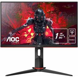 "AOC LCD 23,8"" IPS , 4ms, HDMI, DP"