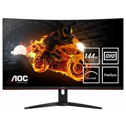 """AOC LCD 32"""" curved, 16:9, 1ms, DP"""