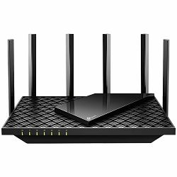 AX5400 Dual Band Wireless Gigabit Router, 1.5 GHz Tri-Core CPU, 1 GE WAN + 4 GE LAN ports, 1× USB 3.0 Port, support 1024-QAM, OFDMA, MU-MIMO, Airtime Fairness, Beamforming, 160MHz Channel Width, come