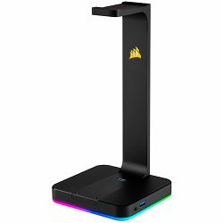 CORSAIR ST100 RGB Premium Headset Stand with 7.1 Surround Sound