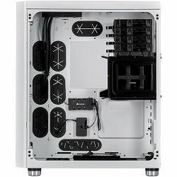 CORSAIR Crystal Series 680X RGB ATX High Airflow Tempered Glass Smart Case — White