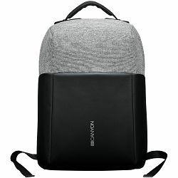 """Anti-theft backpack for 15.6""""-17"""" laptop, material 900D glued polyester and 600D polyester, black/dark gray, USB cable length0.6M, 400x210x480mm, 1kg,capacity 20L"""