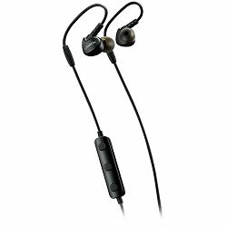 CANYON Bluetooth sport earphones with microphone, cable length 0.3m, 18*25*22mm, 0.028kg, Black