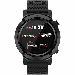 Smart watch, 1.3inches IPS full touch screen, Alloy+plastic body,GPS function, IP68 waterproof, multi-sport mode with swimming mode, compatibility with iOS and android, 500mAh big battery, Host: D48x