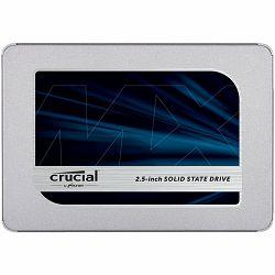 CRUCIAL MX500 2TB SSD, 2.5 7mm, SATA 6 Gb/s, Read/Write: 560/510 MB/s, Random Read/Write IOPS 95k/90k, with 9.5mm adapter