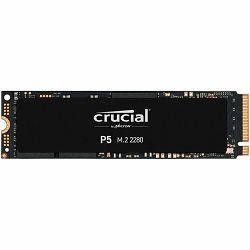 Crucial SSD 2000GB P5 M.2 NVMe PCIEx4 80mm Micron 3D NAND  3400/3000 MB/s, 5yrs, EAN: 649528823328