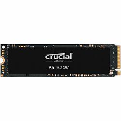 Crucial SSD 500GB P5 M.2 NVMe PCIEx4 80mm Micron 3D NAND  3400/3000 MB/s, 5yrs, 7mm