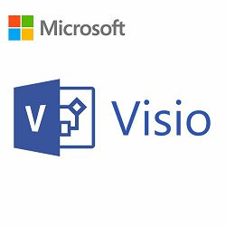 Visio Std 2019 Win English Medialess