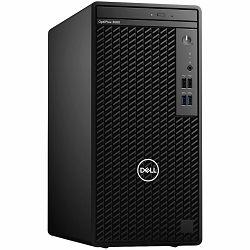 DELL OptiPlex 3080 Tower, Intel Core i3-10105 (4 C/6MB/8/3.7GHz to 4.4GHz/65W), 8GB (1x8GB) DDR4, M.2 256GB PCIe NVMe SSD, Intel Integrated, 8x DVD/RW, Speaker, VGA, DP, HDMI, RJ45, Mouse/Kb, Win10Pro